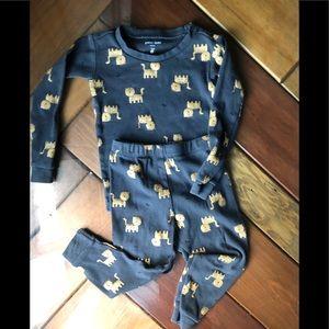 Petit reme pajama set. 24months